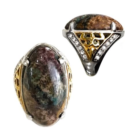 Pancawarna Jasper fivefold colored pancawarna jasper gemstone ring ritually