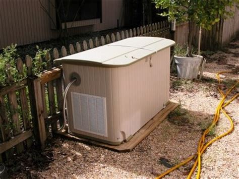 Diy Generator Shed by Soundproofing Materials Needed For An Outdoor Generator