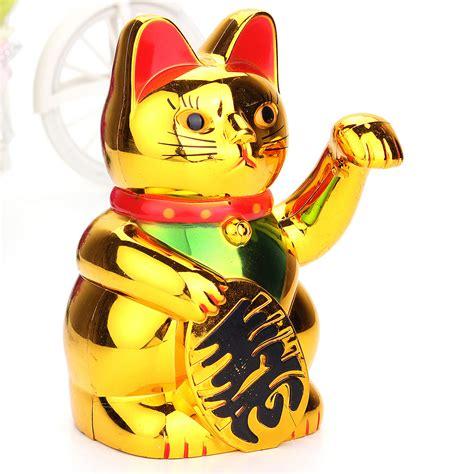 winkekatze bedeutung 6 quot lucky wealth waving cat beckoning maneki golden
