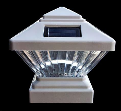 solar balcony lights solar post light solar patio light for vynal post