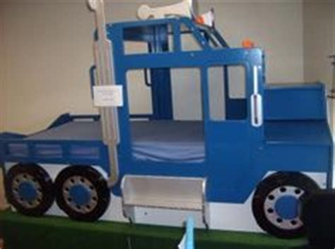 semi truck toddler bed bed ideas for the boy on pinterest castle bed bunk bed