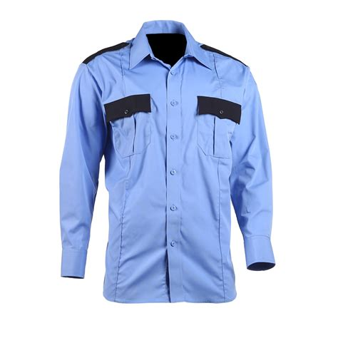 Two Tone Sleeve Shirt lawpro poly cotton two tone sleeve shirt