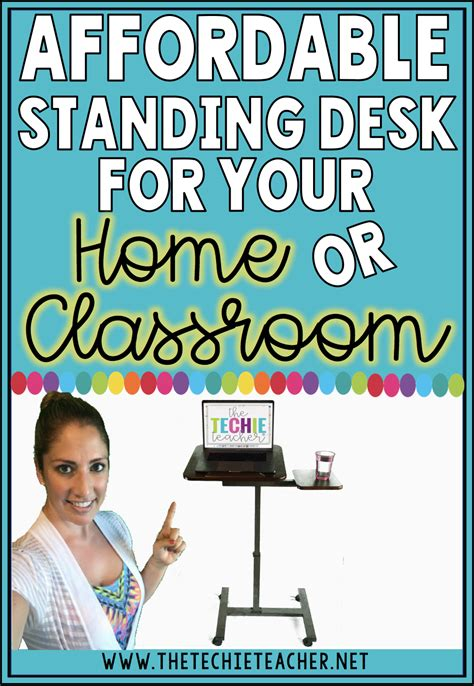 affordable standing desk for your home or classroom the