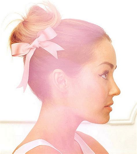 buns for women with round faces ballerina bun or high palm tree ponytail 7 lovely