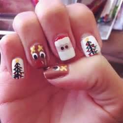 Easy christmas nail art designs ideas 2014 step by step