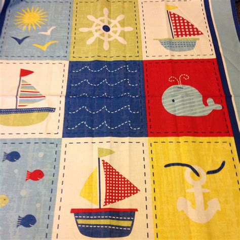 Sailing Quilt by Reversible Nautical Quilt
