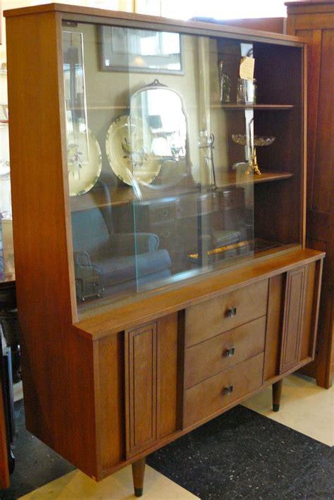 stanley furniture bar cabinet mid century modern china cabinet by stanley furniture