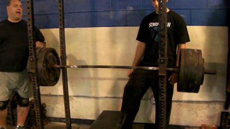mike o hearn bench press max joe cappellino 287 5kg 635lb 1 board bench press press