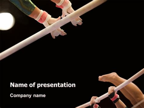 Powerpoint Templates Free Download Gymnastics | sport gymnastics presentation template for powerpoint and