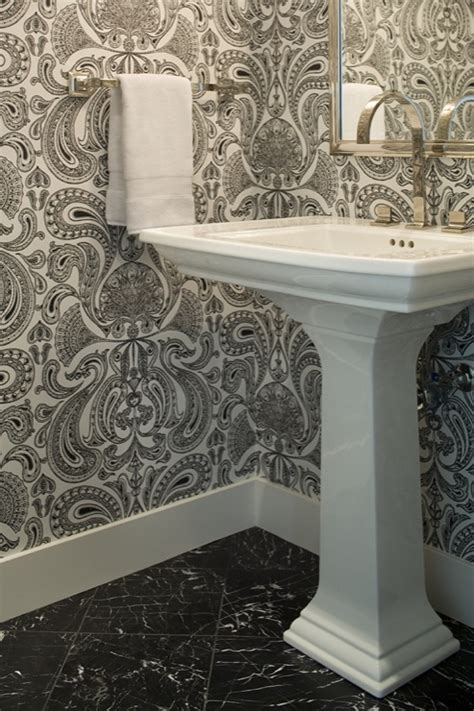 wallpaper powder room powder room wallpaper design ideas