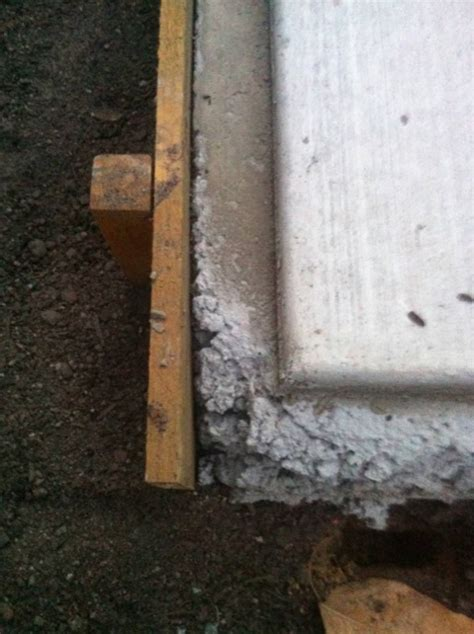 view topic garden shed slab problem  rebated edge