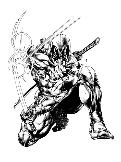 marvel blade coloring pages free printable deadpool coloring pages for kids
