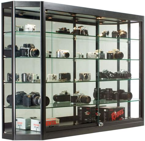 used lockable glass display cabinets 17 best ideas about wall mounted display on