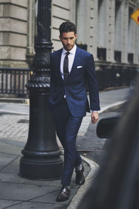 Navy Styles by Business Suit Menswear Style Suits