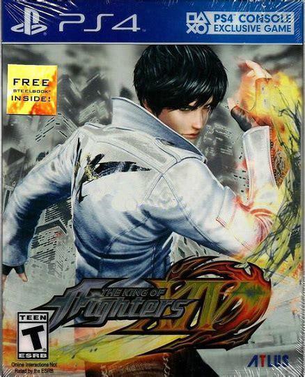 Kaset Ps4 The King Of Fighters Xiv Steelbook Launch Edition a mais completa loja de de belo horizonte the king of fighters xiv steelbook ps4