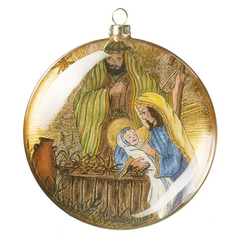 sullivans gold nativity ornament or5628