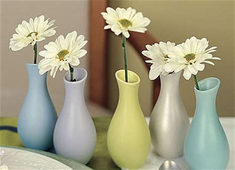 Vase Wedding Favors by Mini Pastel Favor Vases 6 Pcs Garden Theme Wedding