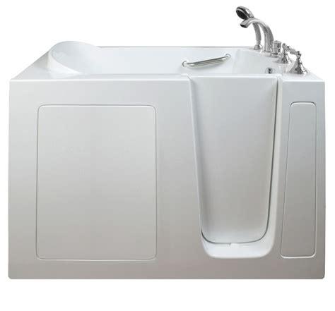 51 inch bathtub e series dual massage 51 inch x 26 inch walk in tub in