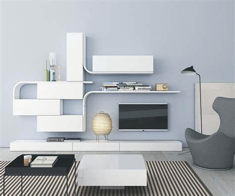 Wohnwand Modern Design by Wohnwand Moderne Designer Tv Wohnw 228 Nde