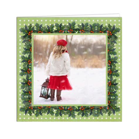 christmas card template free printable photo greeting