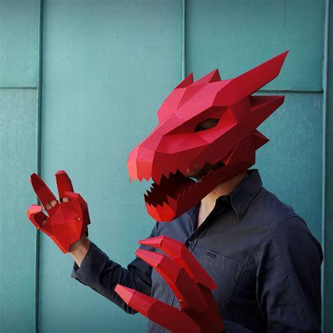 Papercraft Costumes - modular papercraft masks paper masks