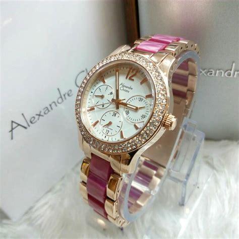 Alexandre Christie 2578 Rosegold Pink jam tangan ac 2463 pink rosegold alexandre christie