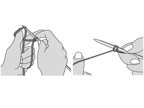 how to cast on thumb method knitting cast on diagram repair wiring scheme