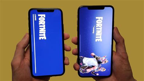 iphone x vs iphone xs max speed test test speakers