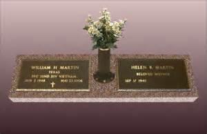 Flower Vases For Headstones Flat Headstones With Vase Wesharepics