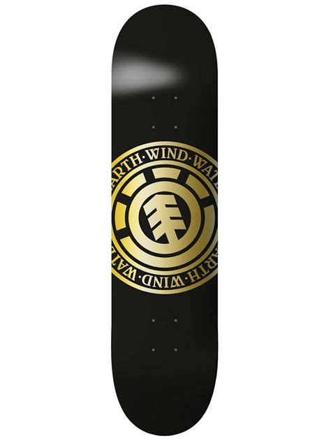 gold skateboard deck buy element seal gold 8 25 quot skateboard deck at blue