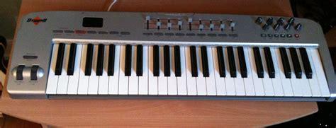 format audio untuk keyboard m audio oxygen 49 silver image 157146 audiofanzine