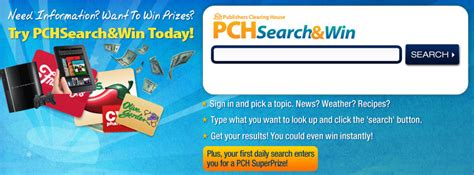 Pch Search N Win - what can you win this week at pchsearch win pch search win blog