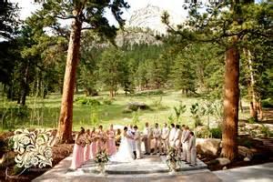 lauren amp brad s della terra wedding estes park wedding