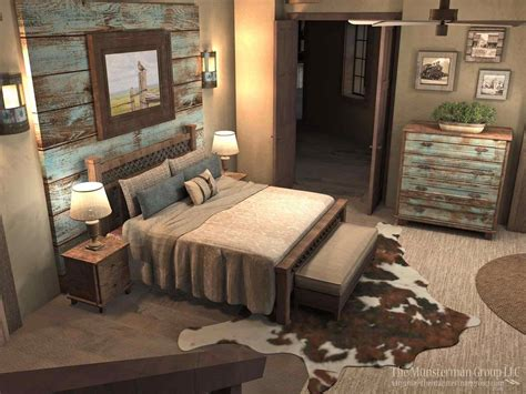 best rustic bedroom wall decor ideas master on
