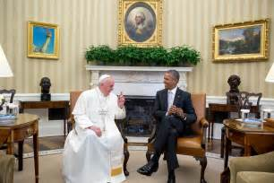 Where In The White House Is The Oval Office in photos pope francis visits the white house