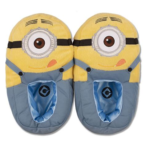 minion house shoes despicable me minion adult slippers universal orlando