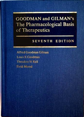 goodman and gilman s the pharmacological basis of therapeutics 13th edition books the pharmacological basis of goodman gilman zvab