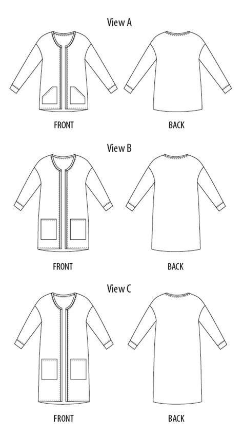 pattern review template review paprika patterns opal cardigan a reversible
