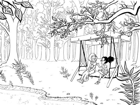 rainforest background coloring page forest background page coloring pages