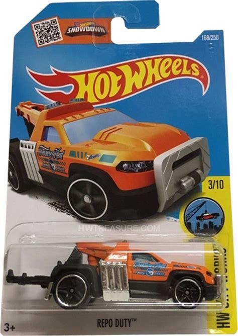 Tm Hotwheels Repo Duty repo duty wheels 2016 treasure hunt hwtreasure