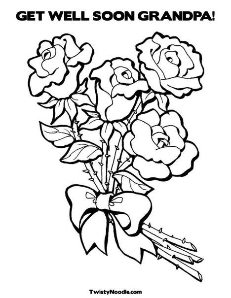 coloring pages get well soon grandpa get well soon coloring pages kids