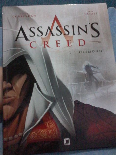 assassins creed volume 1 resenha assassin s creed desmond vol 1 hq minha contracapa