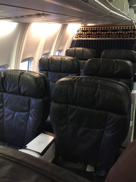Cabin Class by Flight Review Alaska Airlines Class Oakland To