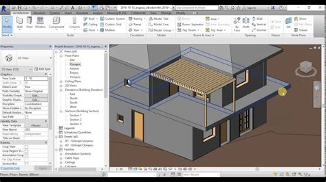 revit tutorial building revit full building project design tutorial 7 in greek