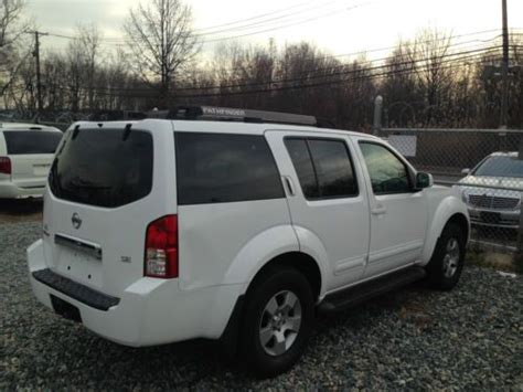 sell used 2007 nissan pathfinder bad transmission in