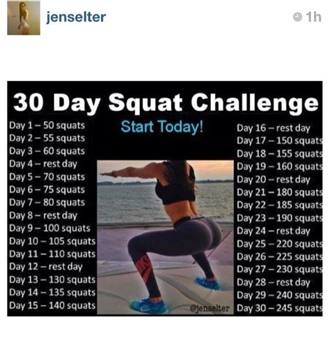 25 best ideas about squat workout on 30 day