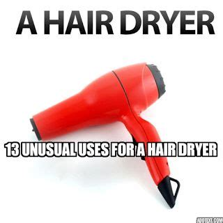 Hair Dryer Benefits And Side Effects 13 uses for a hair dryer 1 quickly set icing 2 unstick cake from pan 7 dust to