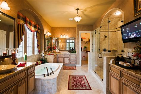 big bathroom company large master bath with tub coffee service and plasma tv