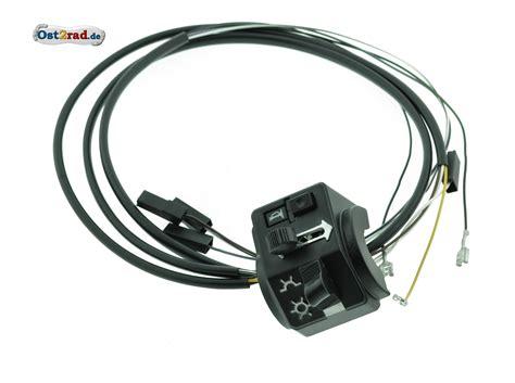 le ohne kabel schalterkombination kompl m kabel hochlenker ohne