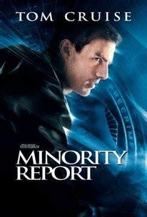 film minority report adalah minority report 2002 rotten tomatoes